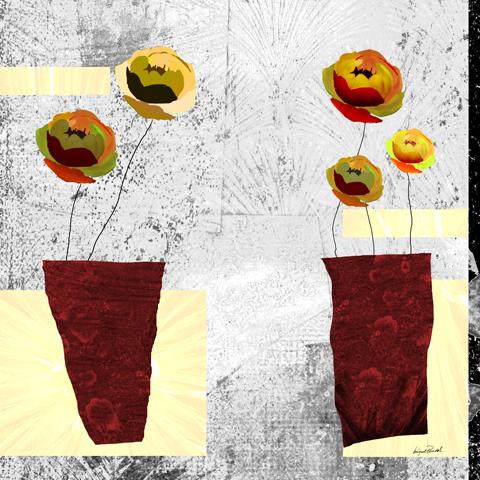 Rose In Vase MP0134 F2183